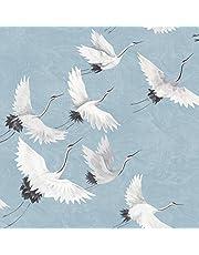 NuWallpaper NU2680 Halcyon Peel & Stick Wallpaper, Blauw