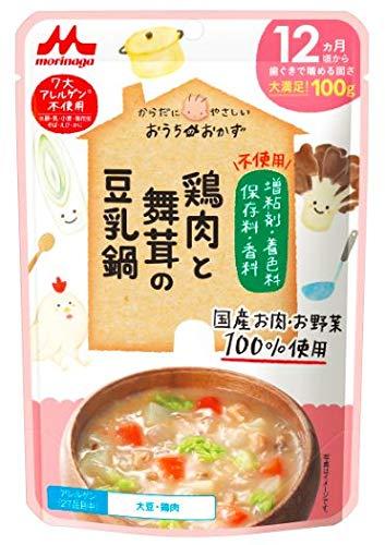 おうちのおかず 鶏肉と舞茸の豆乳鍋 【100%国産肉・野菜】12か月頃から×12個