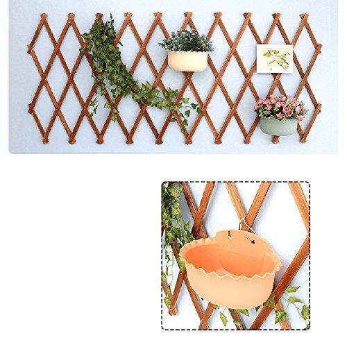 Mur Balcon Support de Fleurs Mur Usine Angle de Grille de Mur Suspension multifonctionnelle décoration (Taille : 180cm)