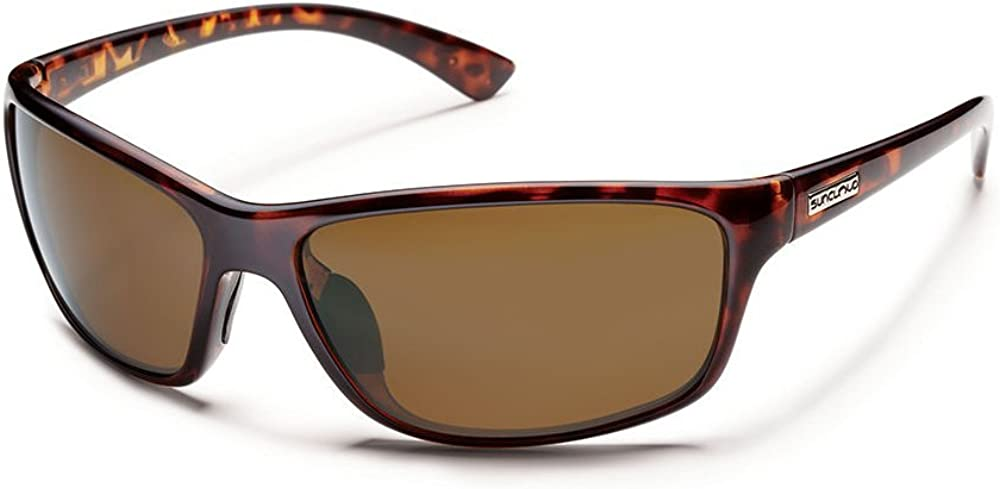 Suncloud Polarized Sentry Sunglasses - Tortoise Frame - Brown Polarized Polycarbonate Lens