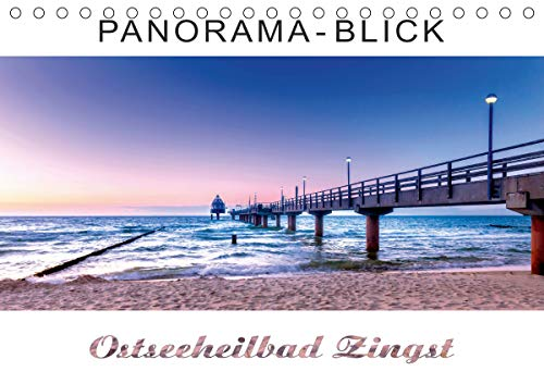 Panorama-Blick Ostseeheilbad Zingst (Tischkalender 2021 DIN A5 quer)