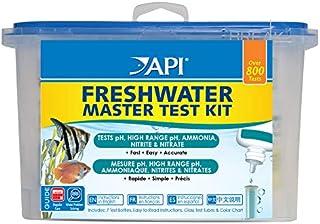 API FRESHWATER MASTER TEST KIT 800-Test Freshwater Aquarium Water Master Test Kit, White, Single