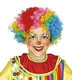 Guirca - Clown-Perücke für Kinder, mehrfarbig (4621)