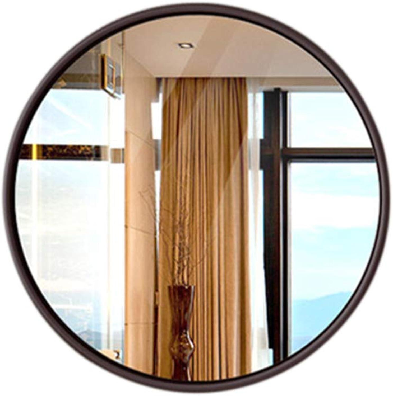 Indoor Decorations Bathroom Mirror-Wall-Mounted Round Vanity Mirror- Modern Minimalist Mirror-Vanity Mirror Decorative Wall Mirror for Bedroom Bathroom Hotel 50-70cn
