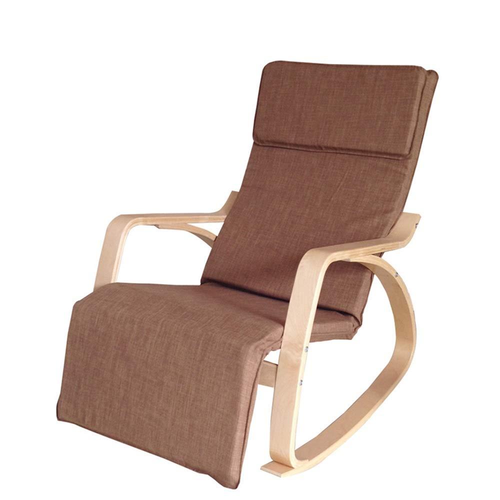 Amazon.com: GEQWE Rocking Chair Nordic Rocking Chair Easy Chair