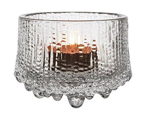 Iittala Ultima Thule Windlicht, Glas, Transparent, 8.6 x 8.6 x 6.5 cm