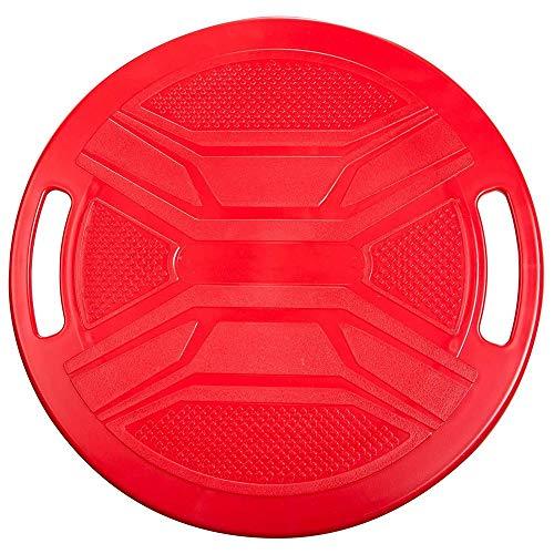 Vobajf Estabilidad Cojines Disco de Equilibrio del Balance del hogar del Entrenamiento del Equilibrio Tablero de Placa Pectoral de Soporte Balance Board Aptitud Pan/Rojo Cojines de Equilibrio