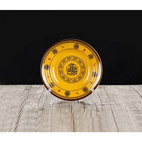 MXJ61 Potage de Poisson mariné Imitation Soupe en Porcelaine Bol en Bouche Cuvette Soupe Bassin Restaurant Vaisselle Grande (Taille : 22.2cm)