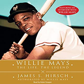 Willie Mays audiobook cover art