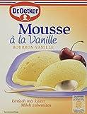 Dr. Oetker Mousse la Vanille, 8er Pack (8 x 60 g) -