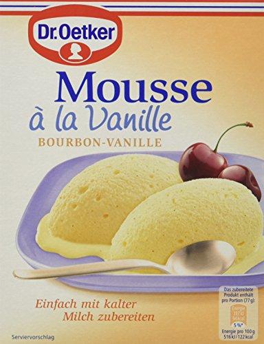 Dr. Oetker Mousse la Vanille, 8er Pack (8 x 60 g)
