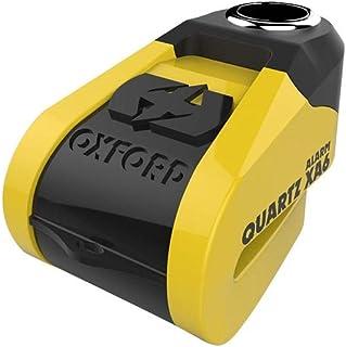 Oxford LK270 Yellow/Black 6mm Quartz XA6 Alarm Disc Lock Pin