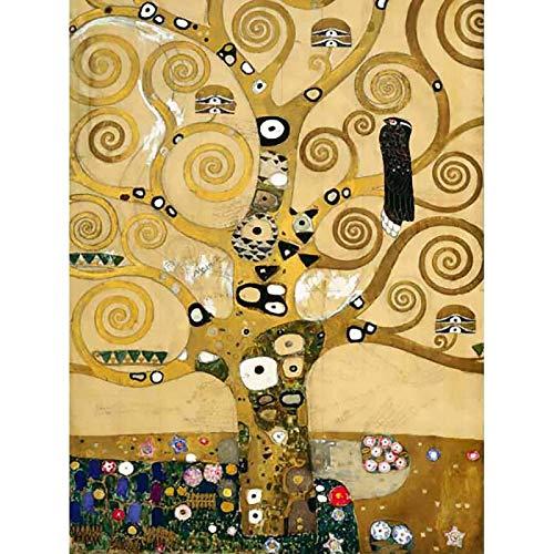 IMPRONTEEDIZIONI Impronte ipz233 - Klimt: Albero della Vita - Puzzle 1000 Pezzi