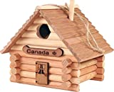 TheLogCabinToys Canadian Made Birdhouse Log Kit - 41 Pieces