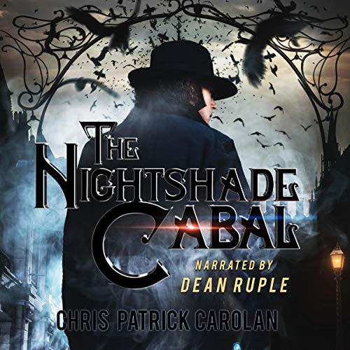 The Nightshade Cabal Audiobook By Chris Patrick Carolan cover art