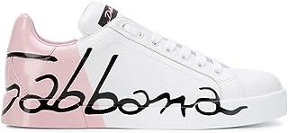 Dolce & Gabbana, Sneaker Donna Bianco/Rosa IT - Marke Größe
