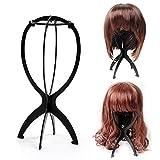 Ardisle color negro y cabeza cuidado de la peluca o el expositor de una función de...