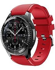 YOKING - Orologio Sams-ung Gal-Axy, 46 mm, bracciale in Sergé incrociato Sam-Sung Gear S3, da uomo, bracciale da donna, accessori per orologio intelligente