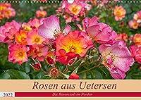 Rosen aus Uetersen (Wandkalender 2022 DIN A3 quer): Prachtvolle Rosen aus Norddeutschland. (Monatskalender, 14 Seiten )