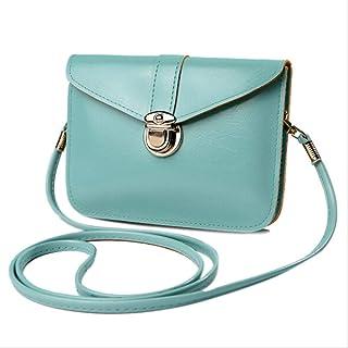 AMVBF Women Messenger Bags Vintage Style Pu Leather Handbag Sweet Cute Cross Body Handbags Clutch Messenger Bags