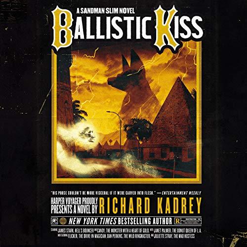Ballistic Kiss audiobook cover art