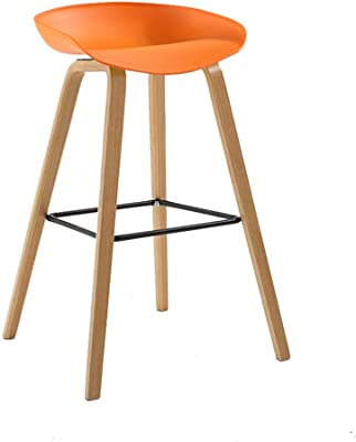 High-grade Solid Wood Bar Chair European-style At The Front Desk Chair Stool Swivel Chair To Enjoy High Reputation At Home And Abroad Bar Chairs Furniture