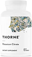 Thorne Research - Potassium Citrate - Highly-Absorbable Potassium Supplement for Kidney, Heart, and Skeletal Support - 90 Capsules