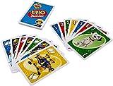 Mattel Games FMW18 UNO Junior Feuerwehrmann Sam Kartenspiel für Kinder, geeignet für 2 - 10...