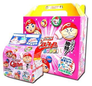 広島 カープ 田中のふりかけ 5種類 20袋 選手カード1枚入り×4つ入り ギフトBOX
