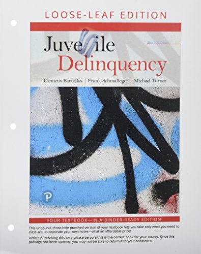 Compare Textbook Prices for Juvenile Delinquency , Student Value Edition 10 Edition ISBN 9780135181393 by Bartollas, Clemens,Schmalleger, Frank,Turner, Michael