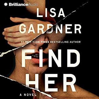 Find Her                   De :                                                                                                                                 Lisa Gardner                               Lu par :                                                                                                                                 Kirsten Potter                      Durée : 6 h et 46 min     1 notation     Global 4,0