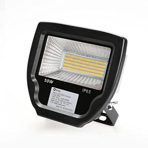Réduction pour Prime Day: Anten® 50W Projecteur LED Floodlight Lampe LED pour Éclairage Extérieur et Intérieur Luminaire Spot Imperméable IP65 de Haute Luminosité et de Basse Consommation (Blanc neutre)