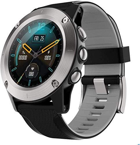 JSL Reloj inteligente para hombre y mujer, con monitor de sueño de frecuencia cardíaca, podómetro, cronómetro, pantalla táctil completa, reloj inteligente IP68
