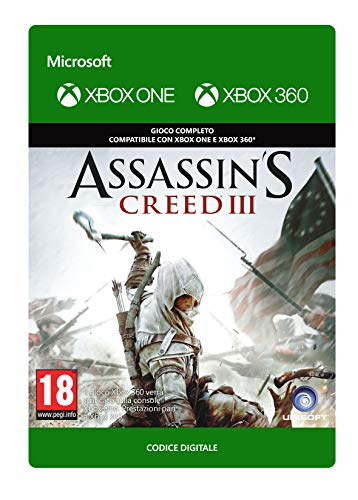 Assassin's Creed III Standard | Xbox 360 - Plays on Xbox One Codice download