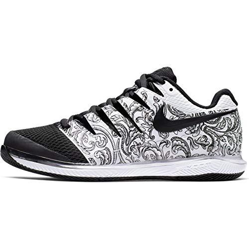 Nike Wmns Air Zoom Vapor X HC, Scarpe da Tennis Donna, Bianco (White/Black 000), 42.5 EU