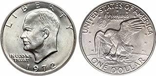1972 P 40% Silver Ike Eisenhower Dollar Uncirculated