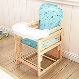 5 tipos de silla de bebe 2 en 1 paquete de alimentación del bebé sillas y mesa de comedor de madera sólidos sillas altas puede ser el diseño de cuerpo partido, con el crecimiento infantil,E