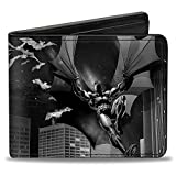 Buckle-Down Buckle-Down Bifold Wallet Batman Accessory, -Batman, 4.0' x 3.5'