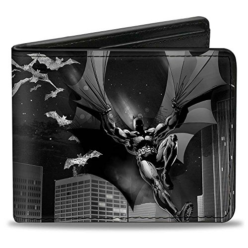 Batman Flight Action Pose Wallet