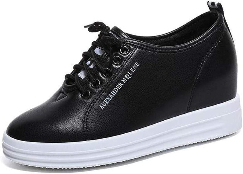 Btrada Women Hidden Heels Wedge Sneakers Antiskid Fashion Flats Sneaker Lightweight Loafers shoes