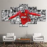 AREABP Manchester United Wayne Rooney Poster 5 Stück