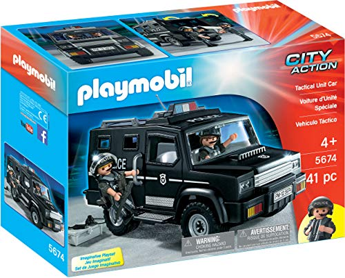 Playmobil City Action 5674 Tactical Unit-Auto, Ab 4 Jahren