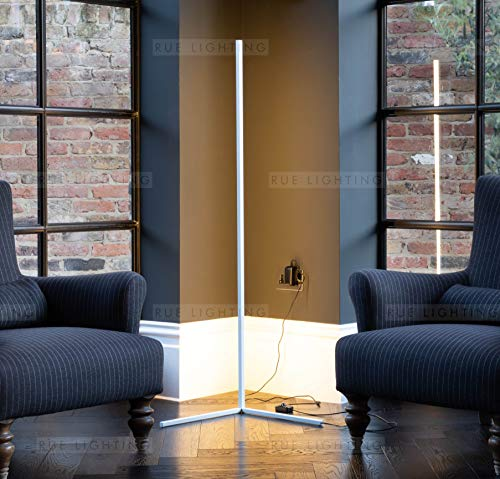 XMAGG Modern Minimalist LED Corner Floor Lamp RGB Color Changing Standing lamp Soft Lighting Home Minimalism Warm Atmosphere for Living Room Bedroom Childrens Room