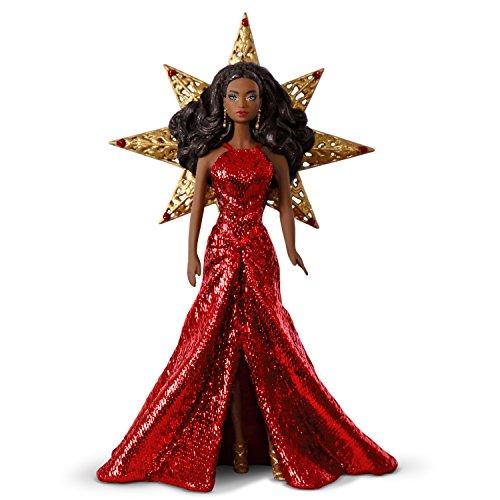 Hallmark Keepsake Christmas Ornament, Year Dated 2017 Holiday Barbie Doll Ornament
