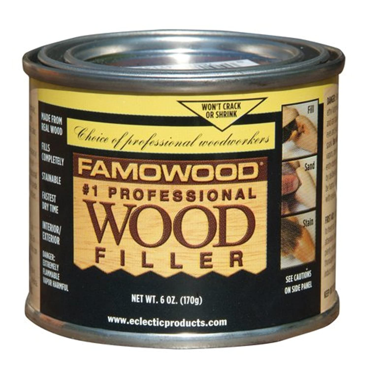 1/4 Pint Maple Wood Putty