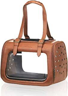 ibiyaya Airline Approved in-Cabin pet Travel Bag for Small Breeds of Cats and Dogs, Opening from Both top and Side, an Alternative to pet Kennel and Dog Carrier Purse Products