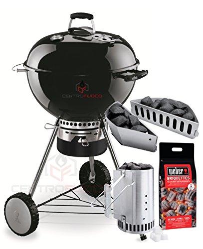 Weber - Master-Touch GBS, barbacoa a carbón, Kit de promoci