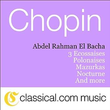 Fryderyk Franciszek Chopin, Polonaise In G Minor, Bi 1
