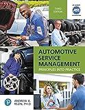 Automotive Service Management (Pearson Automotive Series)