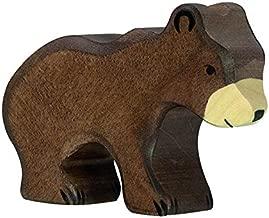 Holztiger Little Brown Bear Toy Figure